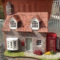 1/48, 0 gauge, English Post Office Cottage, dolls house SOLD