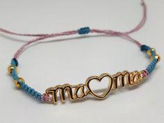 Βραχιολάκι για τη μαμά με κάρτα – HandArtisan Beaded Bracelets, Jewelry, Jewlery, Jewerly, Pearl Bracelets, Schmuck, Jewels, Jewelery, Fine Jewelry