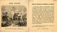 Bon point - Mort de Charles de Bourbon à la Marfée (1641) (from http://souvenirsdecole.com/picture?/153) Éditeur P. Delaplane, éditeur, Paris