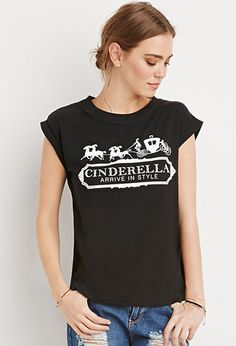 Cinderella Arrive in Style Tee   Forever 21 - 2000157065