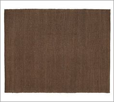 Heathered Chenille Jute Rug - Espresso #potterybarn  I really like how this sounds, soft how would a solid espresso rug work?