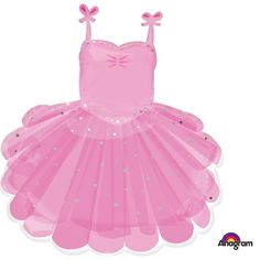 Ballerina Tutu Supershape Balloon Party Supplies Canada - Open A Party Ballerina Tutu, Ballerina Birthday, Ballerina Slippers, Balloons And More, Pink Balloons, Mylar Balloons, Tutu Rose, Pink Tutu, Dance Party Birthday