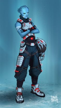 Asari Fighter Pilot
