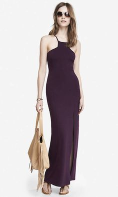 Cut-In Cami High Slit Maxi Dress  Was: 69.90$ Now: 48.93$