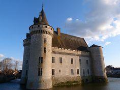 Castillo de Sully (Valle del Loira, Francia)