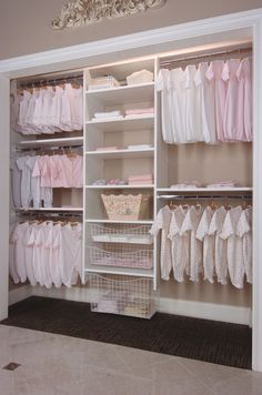 Image of: Nursery Closet Systems
