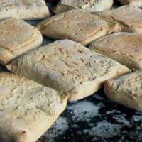 Pilot bread, ship's biscuit, shipbiscuit, sea biscuit, sea bread ,