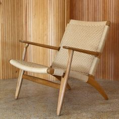 Located using retrostart.com > CH25 Lounge Chair by Hans Wegner for Carl Hansen and Son