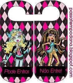 Passatempo da Ana: Monster High