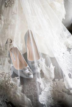 stunning wedding shoes idea; photo: Vero Suh Photography