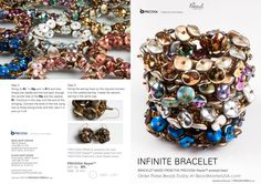 Infinite Bracelet, featuring the Preciosa Ripple bead, Page 1 http://www.beadmasterusa.com/system/scripts/search.cgi?category=8751