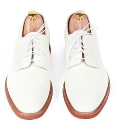 white bucks - white buckskin shoes that were part of the uniform of casual clothing for college students