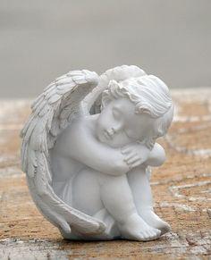 Loves Child Angel Cupid Home Decor Cherub Statue Baby Sculpture Figurine