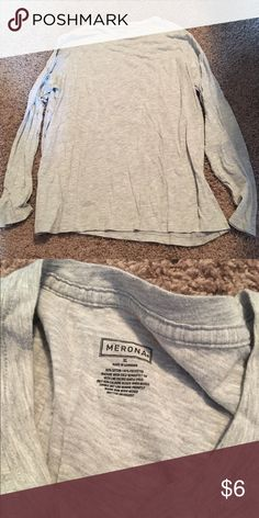 Mersona Long Sleeve 🌸 Welcome and thank you for checking out my closet 🌸  Please read below if you are interested in the item:  All items are 💯% Authentic!   Always open to reasonable offers and possible trades.   🛍 Up for sale: excellent condition. Soft and comfortable. Cotton and polyester. Size extra large Tops Tees - Long Sleeve