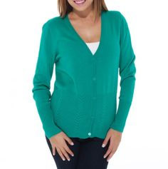 Pointelle Button Cardigan - Spring Sweaters for Mom - Events