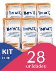 Impact Pêssego - Tetra Slim 200mL - 28 unidades Personal Care, Slim, Self Care, Personal Hygiene