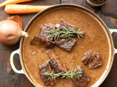 The BEST braised short rib recipe--sure to impress even your most gourmet dinner guests