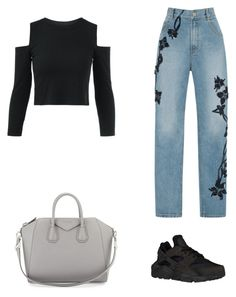 """""""Senza titolo #168"""" by anna-1999 ❤ liked on Polyvore featuring Jonathan Simkhai, NIKE and Givenchy"""