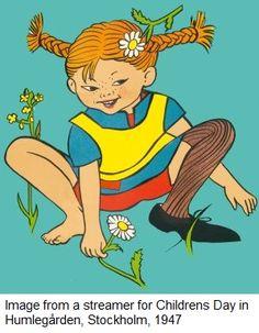 Ingrid Van Nyman's Pippi Longstocking