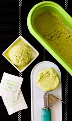 Dairy-Free Green Tea Ice Cream Recipe (naturally vegan, gluten-free, soy-free, optionally nut-free, easy, affordable, and just 5 ingredients!) @lovemysilk #ad