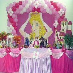anniversaire fete d anniversaire barbie partie barbie ballons de decorations decorations