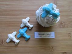Airplane Cupcake design