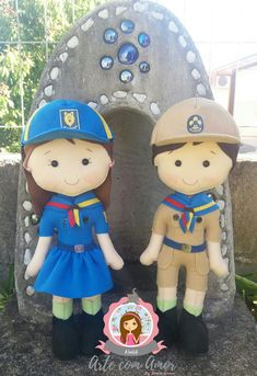 Smurfs, 30, Pasta, Fictional Characters, Alvin And The Chipmunks, Cub Scouts, Boy Scouting, Felt Dolls, Colors