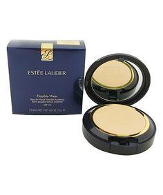 This Estée Lauder Shell Beige Double Wear Stay-in-Place Powder Makeup by Estée Lauder is perfect! #zulilyfinds