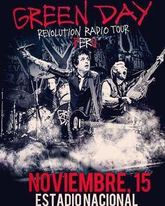 Xfin! #greenday en PERÚ #revolutionradiotour #rock #poppunk #punkrock #rockalternativo #rock90s #billiejoeamstrong #mikedirnt #trecool #924gilmanstreet