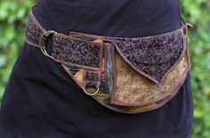 Golden Waves Festival Pocket Belt Utility belt von Sandalamoon