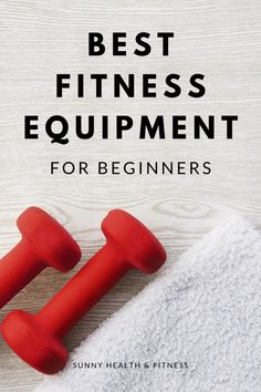 If you're new to fitness, just a few pieces of fitness equipment will get you started with a home gym that has more than enough options to keep you moving and making progress towards your fitness goals. Check our our in-house fitness instructors top tips for beginners looking to start their fitness journey from home! #sunnyhealthfitness #homegym #homegymideas #fitnessequipment #homegymforbeginners #fitnessbeginners