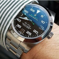 Rolex Air-King                                                                                                                                                                                 Mais http://amzn.to/2sUiQPX