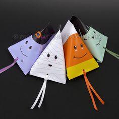 Paper Zen: Halloween Ghost Party Favor
