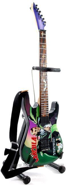 Kirk Hammett Mini Guitar Replica (DRACULA)