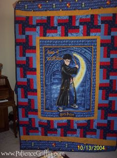 Harry Potter Quilt By Juanita Quilting Inspiration