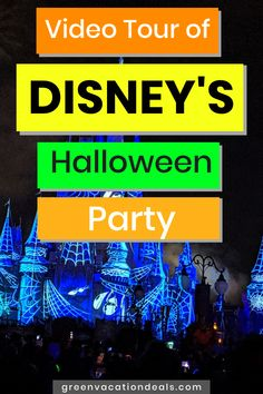 Mickey Not So Scary Halloween Party tour! Do you want to attend this Disney World Halloween event in 2020 (or are just looking for a fun escape)? Take this video tour Disney Halloween Parties, Disney World Halloween, Halloween Parade, Halloween Festival, Scary Halloween, Holiday Parties, Best Family Vacations, Holidays Around The World, Vacation Deals
