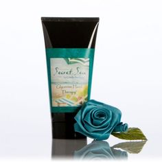 Secret Sea  Glycerine Hand Therapy™  6oz -   Our most popular product in a convenient 6oz tube. This unique restorative cream moisturizes and nourishes through the careful blending of Glycerin, Vitamin E, Aloe Vera, Almond Oil and Botanical Extracts.  $ 12.49 Hand Therapy, Hand Cream, Vitamin E, Aloe Vera, Almond, Favorite Things, Tube, Moisturizer, Perfume Bottles