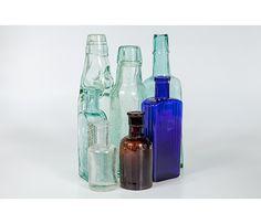Vintage Glass Bottles