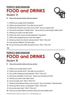 Food and Drinks, English, Learning English, Vocabulary, ESL, English Phrases, http://www.allthingstopics.com/food-and-drinks.html