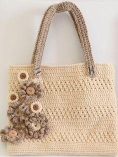 PDF Flora Bag Crochet download pattern by AliCraftsDesigns on Etsy https://www.etsy.com/listing/183763304/pdf-flora-bag-crochet-download-pattern