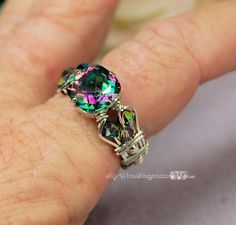 Mystic Topaz NEEDS to be my engagement ring stone I think