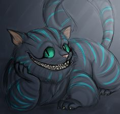 Cheshire Cat doodle. by ~argentinaland on deviantART