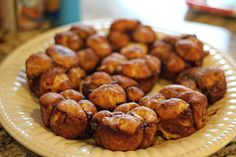 Monkey Bread. So yummy! Loved the crescent rolls instead of biscuits. No one could tell it was healthier either!