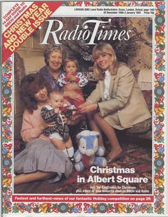 For many, the Christmas 'Radio Times' is a tome of wonder during the festive period. Take a look at how times have changed with Christmas covers spanning 90 years. Christmas Cover, Christmas Past, Retro Christmas, Christmas Comics, 1970s Childhood, My Childhood Memories, Holiday Competitions, True Meaning Of Christmas, Tv Times