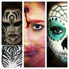 Halloween Makeup by Morgan Alsop with MoMichelle Makeup Artistry