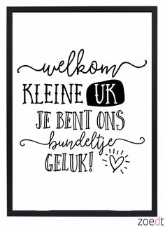 Alfabet poster voor de kinderkamer Creative Lettering, Brush Lettering, Lettering Ideas, Doodle Drawing, Dutch Quotes, Baby Quotes, Baby Cards, Beautiful Words, Wise Words