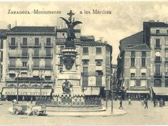 Plaza, Louvre, Memories, City, Travel, Zaragoza, Old Photography, Antique Photos, Exhibitions