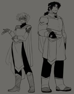 Older Pidge & Hunk