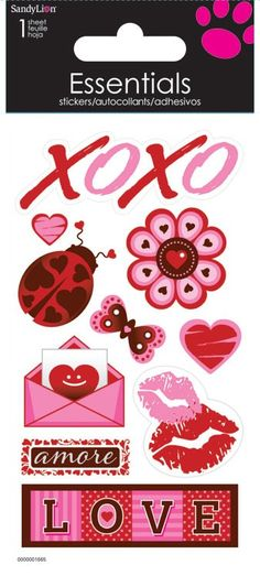 love note - essential stickers
