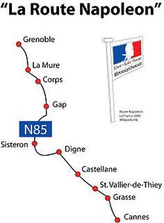 La Route Napoléon.